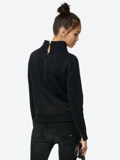 Bench, Damen, Sweatshirt, BLEA3777, BK014 Skyline Fashionstore